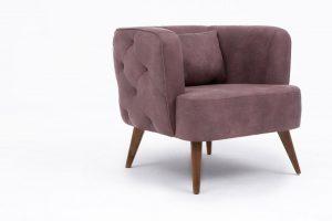 Purple armchair basic - FRAG3640